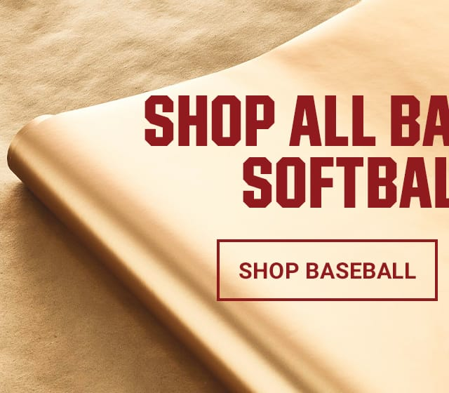 shop all baseball and softball deals. shop baseball.
